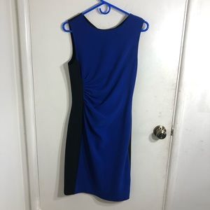 DVF Laura Two Tone Dress